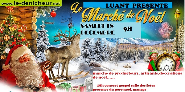 x18 - SAM 18 décembre - LUANT - Marché de Noël de Luant en scène */ 12-18_14