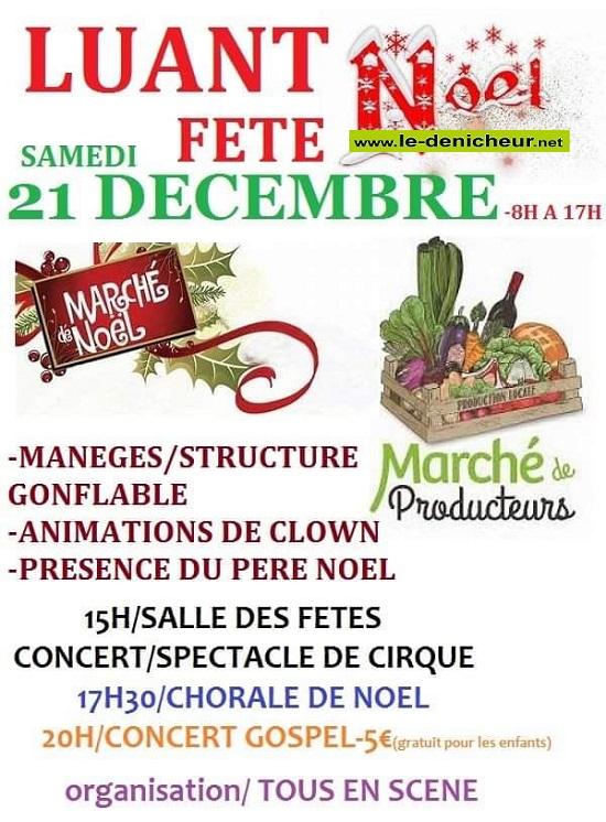 x21 - SAM 21 décembre - LUANT - Marché de Noël * 12-21_18