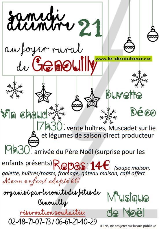 x21 - SAM 21 décembre - GENOUILLY - Veillée de Noël */ 12-21_18