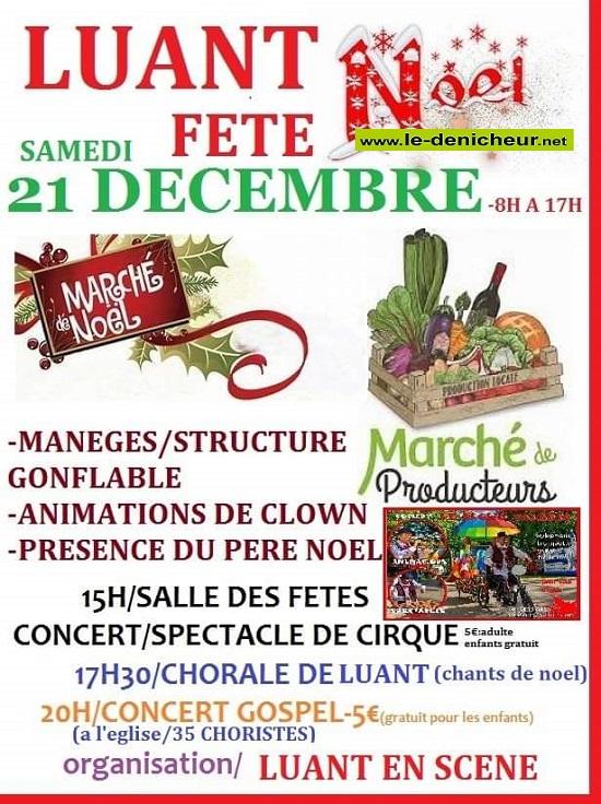 x21 - SAM 21 décembre - LUANT - Marché de Noël de Luant en Scène * 12-21_20