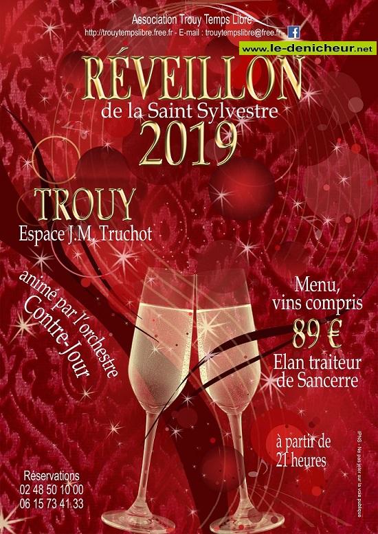 x31 - MAR 31 décembre 2019 - TROUY - Réveillon de Trouy Temps Libre */ 12-31_26