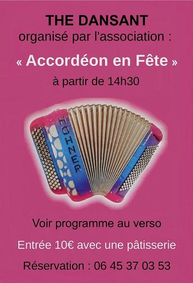 q08 - MER 08 mai - EGUZON - Thé dansant avec Les Compagnons du Musette.*/ Acc_re10