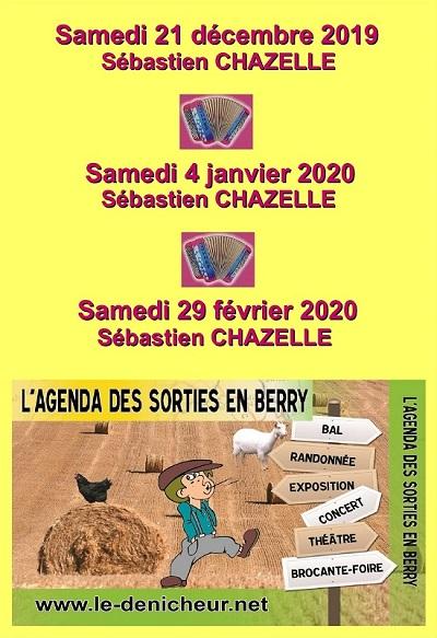 b29 - SAM 29 février - LOURDOUEIX St-Pierre - Soirée dansante avec S. Chazelle .*/ Acc_ve11