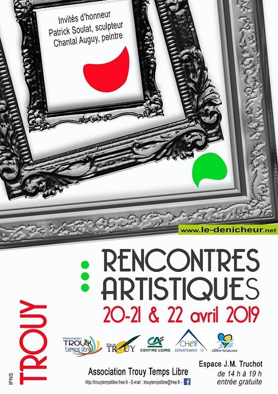 p20 - Du 20 au 22 avril - TROUY - Rencontres artistiques */ Affich12