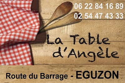 x01. EGUZON - LA TABLE D'ANGELE - Hôtel - Restaurant  Angzol10