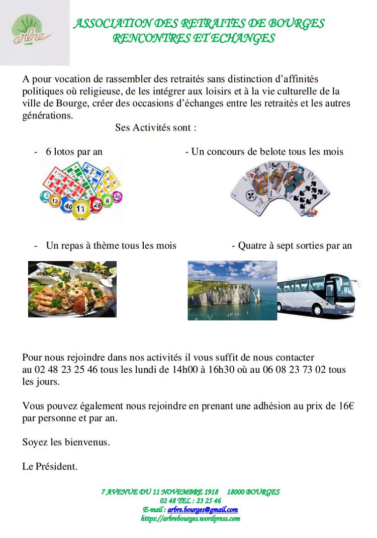 BOURGES - Présentation de l'association ARBRE  Arbre10
