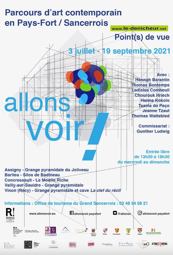 u19 - Jusqu'au 19 septembre - PAYS FORT / SANCERROIS - Parcourt d'Art Contemporain Av2110