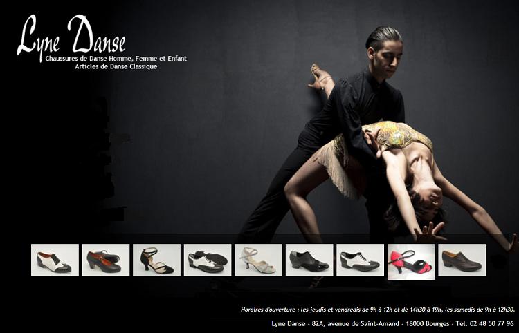 zj18. BOURGES - LYNE DANSE - Chaussure de danse Lyne_d10
