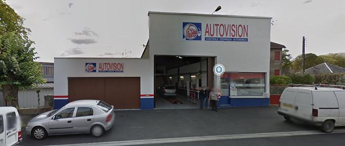 z. ISSOUDUN (Indre) - AUTOVISION - Contrôle Technique Automobile Sans_t58