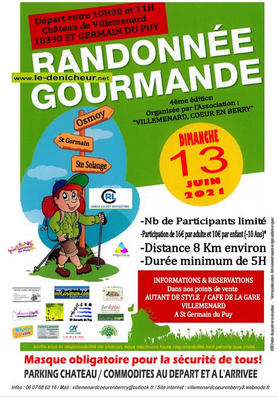 r13 - DIM 13 juin - ST-GERMAIN DU PUY - Randonnée gourmande */ Sans_t63