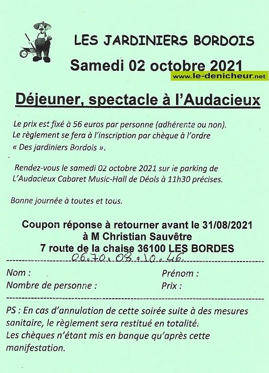 v02 - SAM 02 octobre - LES BORDES - Déjeuner Spectacle à l'Audacieux */ Scan27