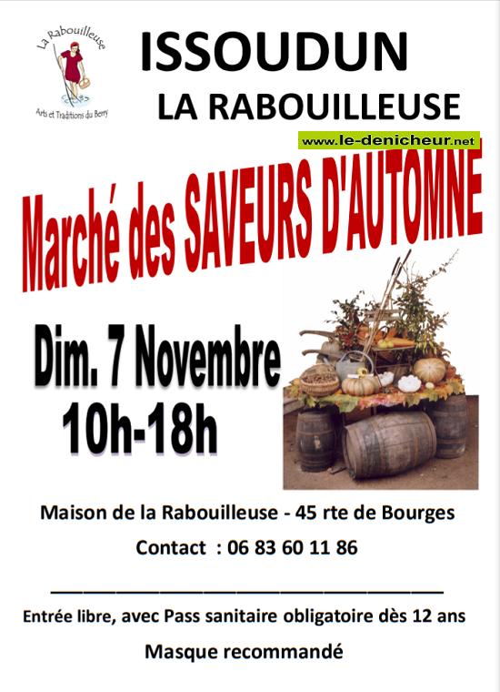 w07 - DIM 07 novembre - ISSOUDUN - Fête des Saveurs d'Automne */ Z11-0710