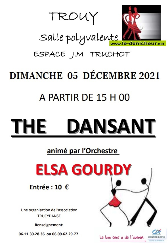 x05 - DIM 05 décembre - TROUY - Thé dansant avec Elsa Gourdy */ Z12-0510