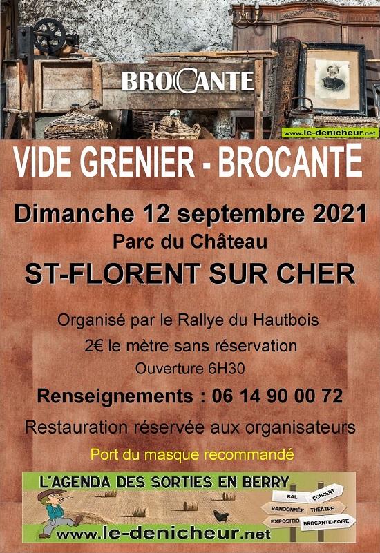 u12 - DIM 12 septembre - ST FLORENT /Cher - Brocante du Rallye du Hautbois Zz09-110