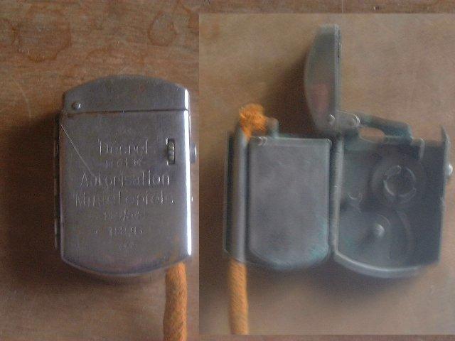 allumage - Briquets à allumage méche ou cigarette particulier Brique12