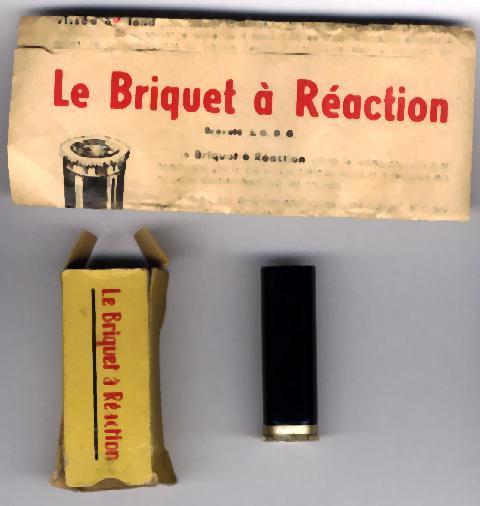 allumage - Briquets à allumage méche ou cigarette particulier Reacti10