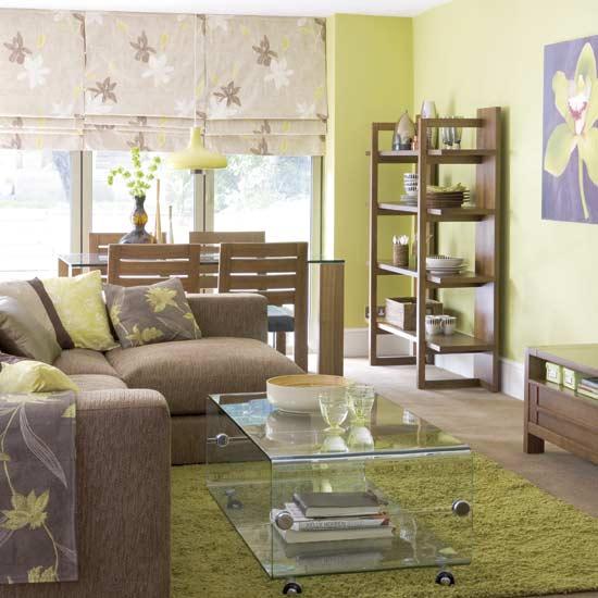 comment peindre les murs de  ma salle à manger cérusée beige gris?? Green-10