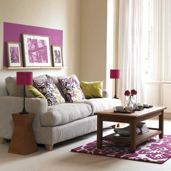 quelle couleur de peinture ou papier peint pour salle et sal Pink210