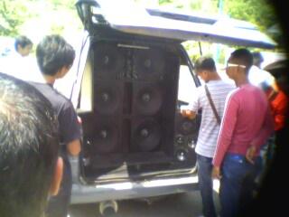 UMS 15-2-2009 show blast Img13110