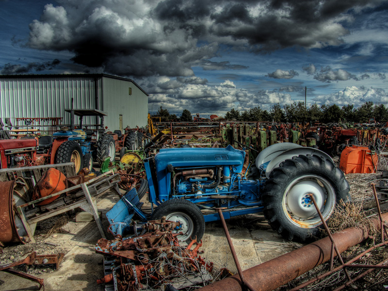 Blue Tractor Blue_t10