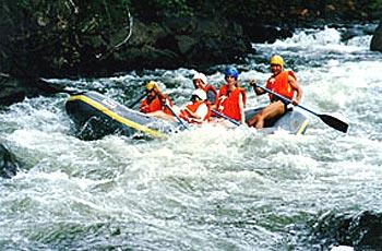 kiulu river sukan lasak Raftin11