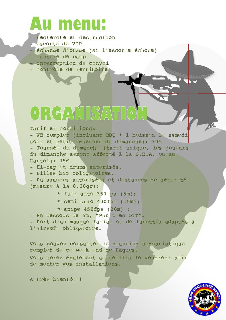 """OP CAT's Belgium III : Opération """"Siesta Inquieta"""" - 22,23 & 24 avril 2011 Synops11"""