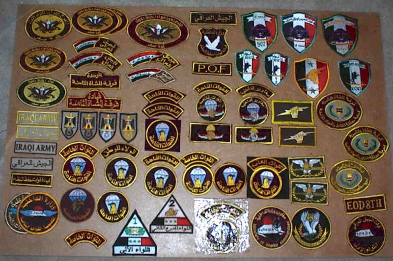 Iraqi insignia collection post 2003 Iraqaa10
