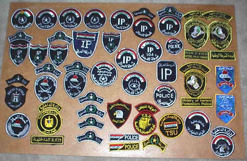 Iraqi insignia collection post 2003 Iraqpo10