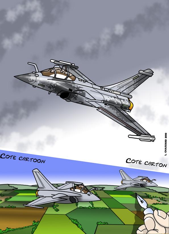 Coté carton, coté cartoon : What if de Rafale Rafale10