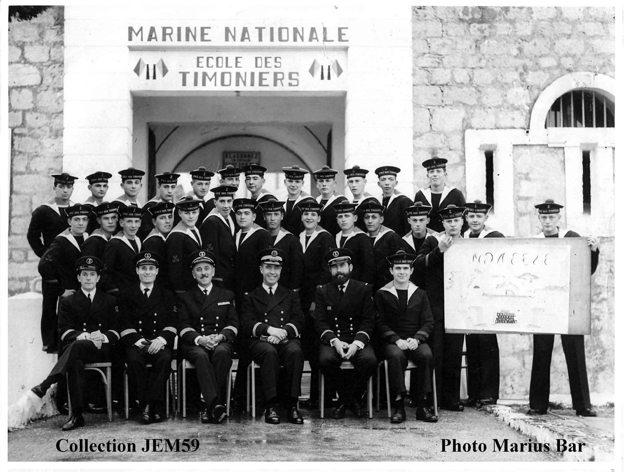 ALBUM PHOTOS DE COURS - ÉCOLE DES TIMONIERS 1967_112