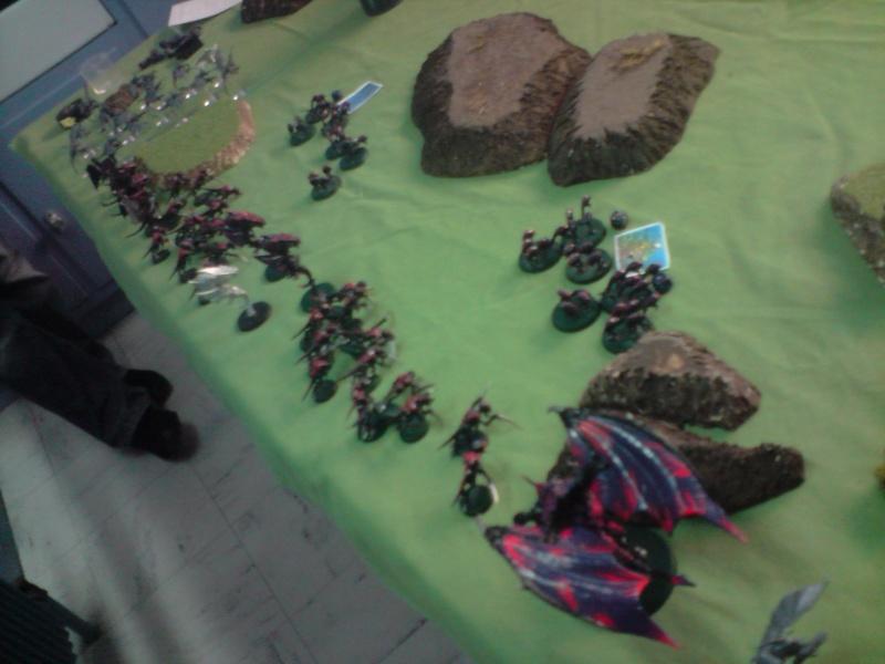 Photo + rapport de bataille : Point de vue tyranide Daploi10