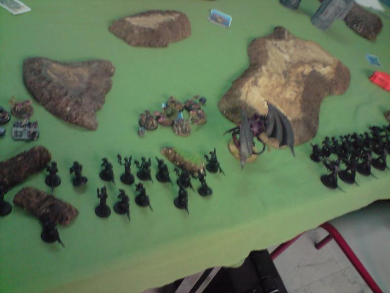 Photo + rapport de bataille : Point de vue tyranide Daploi11