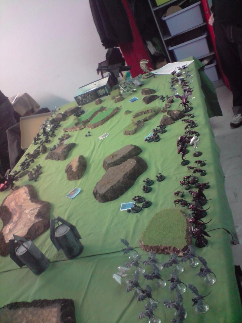 Photo + rapport de bataille : Point de vue tyranide Daploi12