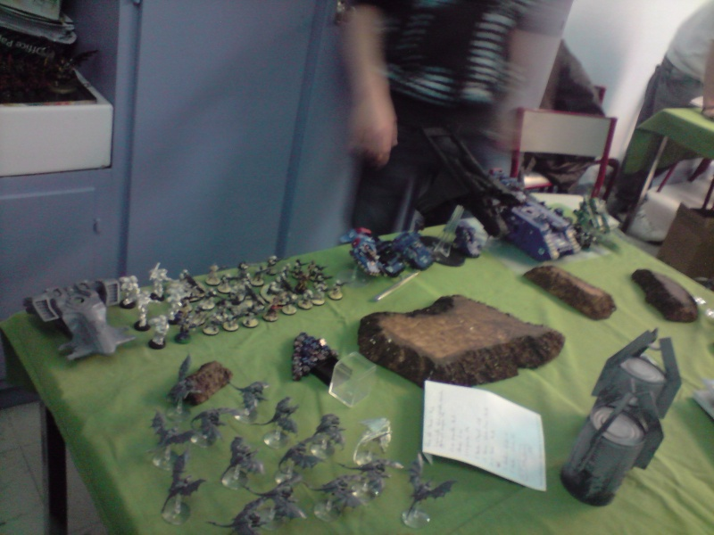 Photo + rapport de bataille : Point de vue tyranide Daploi13