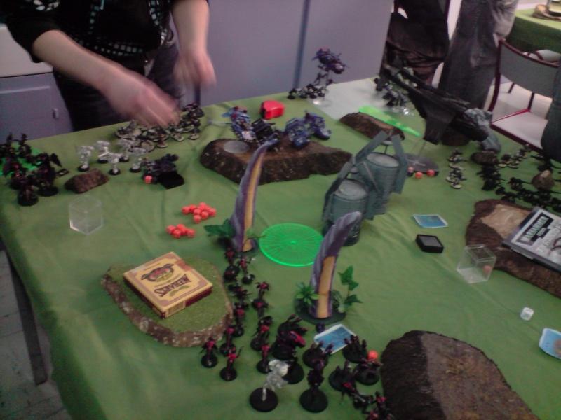 Photo + rapport de bataille : Point de vue tyranide Gaunt_10