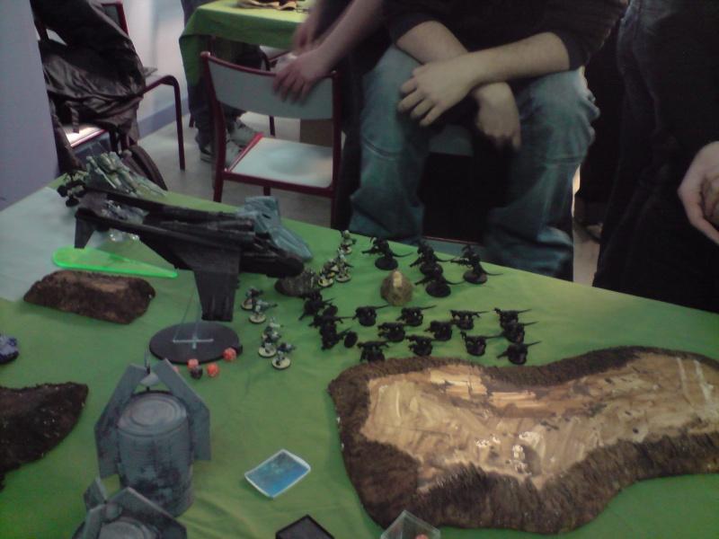 Photo + rapport de bataille : Point de vue tyranide Thanat10