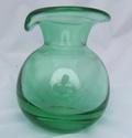Bulbous Green Vase 00121