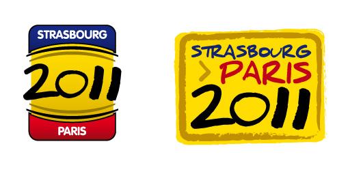 le logo pour le strasbourg Paris 2011 Sp-log13