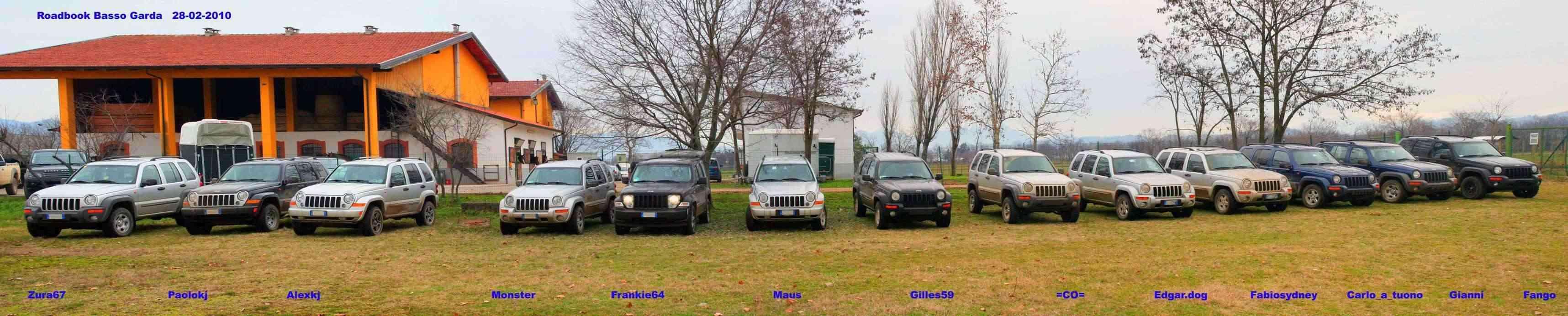 ROAD BOOK BASSO GARDA 28.02.2010 Gruppo12