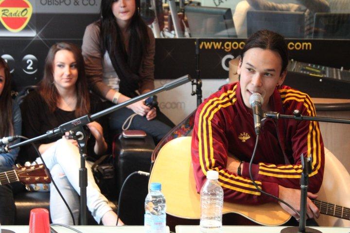 Justin & la bande au Daily Live [ Goom Radio ] V12