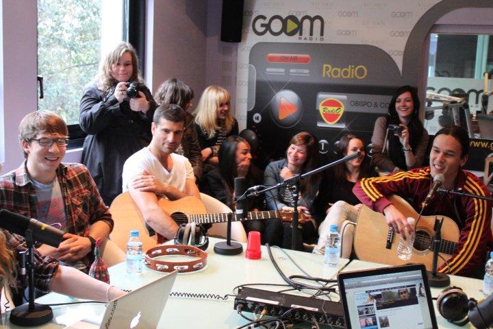 Justin & la bande au Daily Live [ Goom Radio ] V13