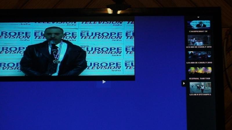 David REGY sur EUROPE TELEVISION Dsc00110