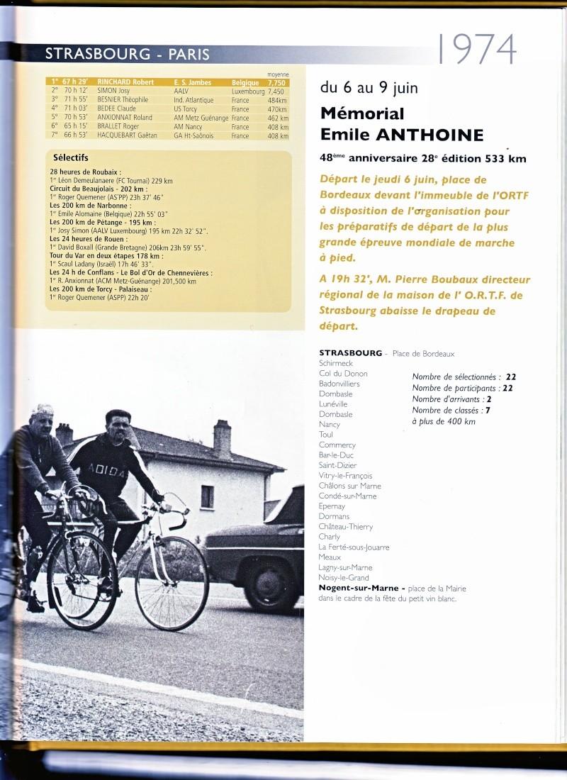 1974 Strasbourg-Paris   la BELGIQUE en marche S_p19710