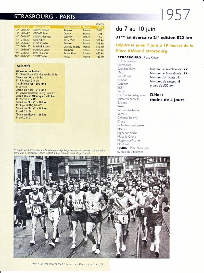 1957 SRASBOURG-PARIS Strasb12