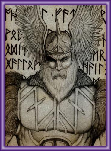Odin, père des Dieux. Mor1mp10