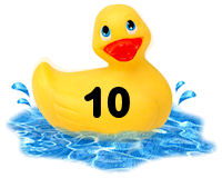 Closed - Pick-a-Duck  Rubber19