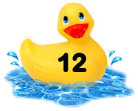 Closed - Pick-a-Duck  Rubber21