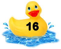 Closed - Pick-a-Duck  Rubber25