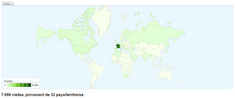 [Stats and News] Février et Mars 2010 ! Mapfor10