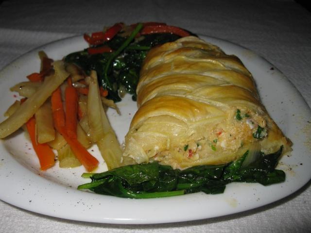 tresse de saumon - Tresse feuilletée au saumon Feuill10